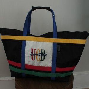 1990's United Colours of Benetton UCB Shopping Bag